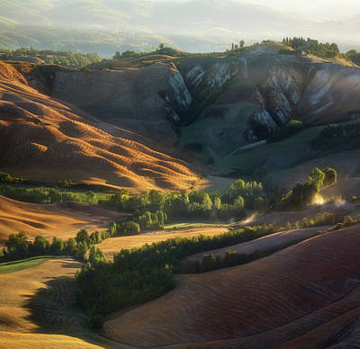 Valley Wall Art - Photograph - Morning.... by Krzysztof Browko