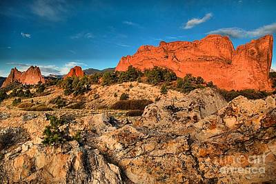 Photograph - Morning Light At Garden Of The Gods by Adam Jewell