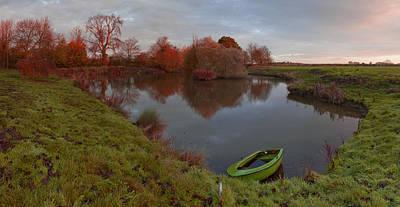 Morning Light Lenton Fishing Pond Art Print