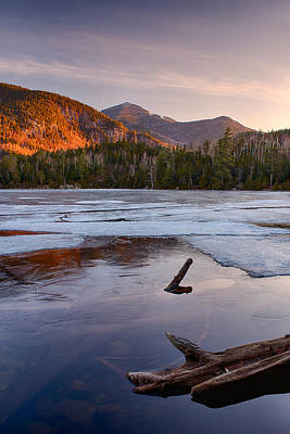 Morning Light On Whiteface Mountain Art Print by Panoramic Images