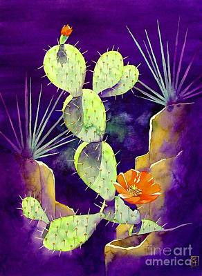 Desert Flower Painting - Morning Light by Robert Hooper