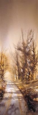 Morning Light Art Print by Roland Byrne