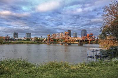 Photograph - Morning Light Upon Downtown Little Rock - Arkansas - Skyline by Jason Politte