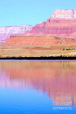 Morning Light - Vermillion Cliffs And Colorado River Art Print by Douglas Taylor