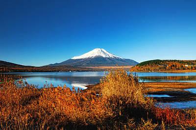 Mount Fuji Photograph - Morning Lights by Midori Chan