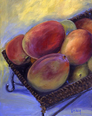 Hana Painting - Morning Mangos by Stacy Vosberg