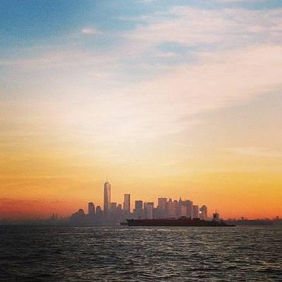 New York City Skyline Wall Art - Photograph - Morning Manhattan by Dan Gilrein