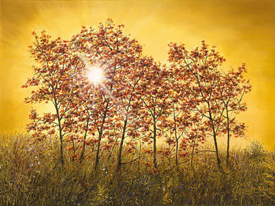 Painting - Morning Maples by Doug Kreuger