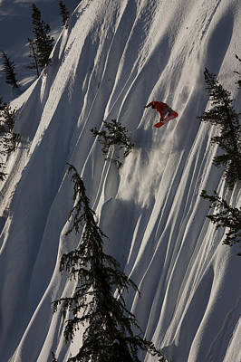 Snowboarding Photograph - Morning Method by Kevin Westenbarger
