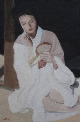 Painting - Morning Mirror by Masami Iida