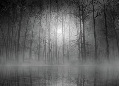 Haze Photograph - Morning Mist by Bethanne Lutz