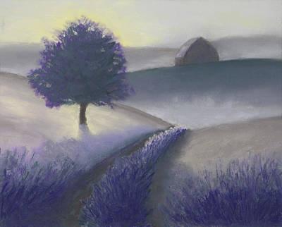 Morning Mist Art Print by Garry McMichael