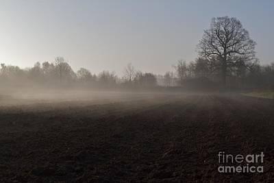 Art Print featuring the photograph Morning Mist  by Gary Bridger