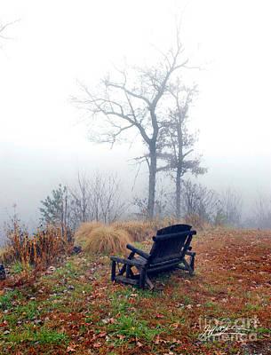 Asheville Digital Art - Morning Mist IIi by Jeff McJunkin