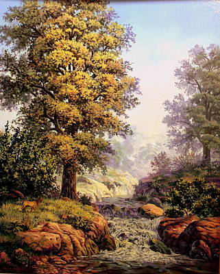 Painting - Morning Mist by W  Scott Fenton