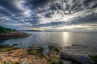 Photograph - Morning On The Acadia Coast by At Lands End Photography