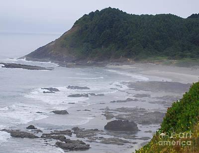 Landscape Photograph - Morning On The Beach by Sharon Elliott