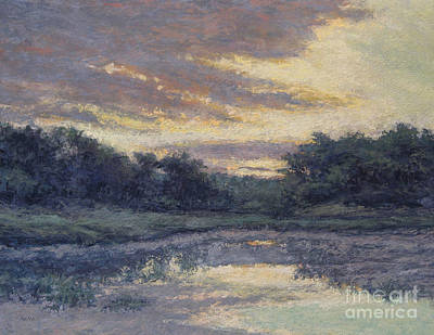 Painting - Morning On The Marsh / Wellfleet by Gregory Arnett