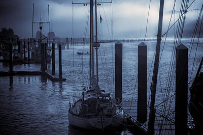 Morning On The Siuslaw Art Print by Michael Connor
