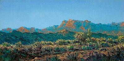 Sonora Painting - Morning On The Sonora by Mike DeWitt