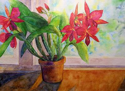 Painting - Morning Orchids by Patricia Beebe
