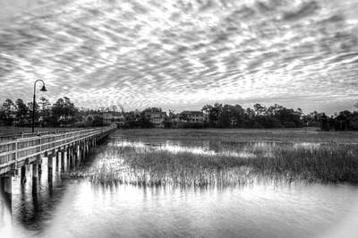 Photograph - Morning Over Rivertowne by Walt  Baker
