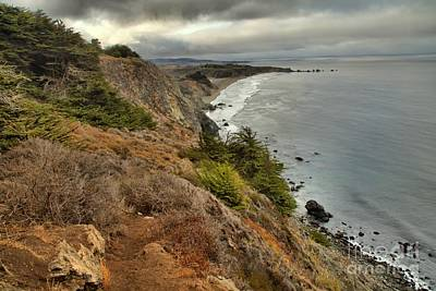 Photograph - Morning Pacific Storm Clouds by Adam Jewell