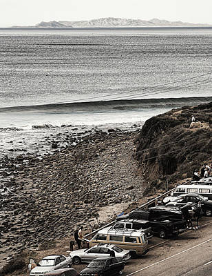 Patrol Cars Photograph - Morning Patrol At County Line by Ron Regalado