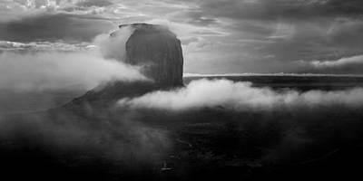 Photograph - Morning Rain In Monument Valley by Mark Robert Rogers