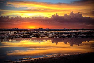 Beata Photograph - Morning Reflections by Beata  Czyzowska Young