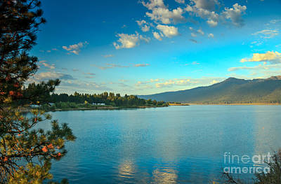 Photograph - Morning Reflections On Lake Cascade by Robert Bales