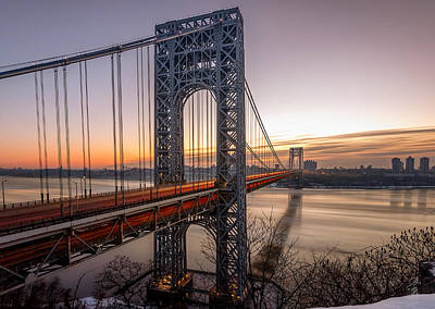 Bridge Photograph - Morning Rush  by Anthony Fields