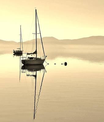 Photograph - Morning Sail by Marilyn MacCrakin