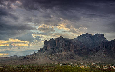 Photograph - Morning Serenity In The Superstitions  by Saija  Lehtonen