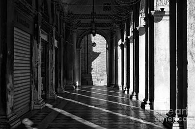 Photograph - Morning Shadows In San Marco by John Rizzuto