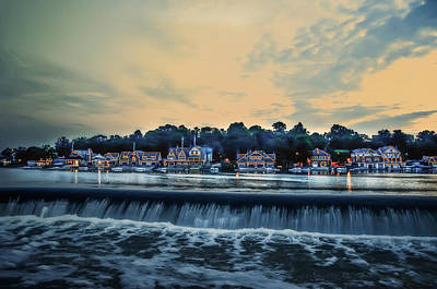 Phillies Digital Art - Morning Skies On Boathouse Row by Bill Cannon