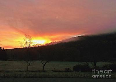 Photograph - Morning Sky Fire by Christian Mattison