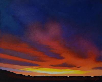Painting - Morning Sky by Gayle Faucette Wisbon