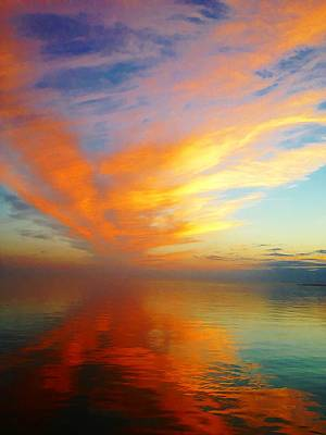 Morning Sky Ocracoke Nc Art Print