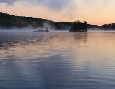 Art Print featuring the photograph Morning Smoke by Paul Noble