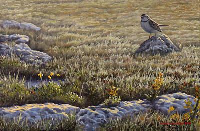 Painting - Morning Song by Valentin Katrandzhiev