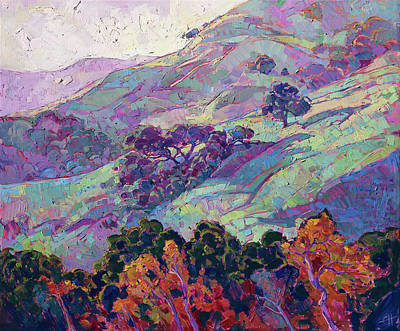 Painting - Morning Splendor  by Erin Hanson