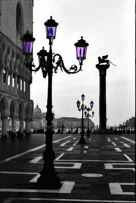 Photograph - Morning - St. Mark's Square by Alan Toepfer