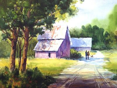 Painting - Morning Stroll by Tina Bohlman