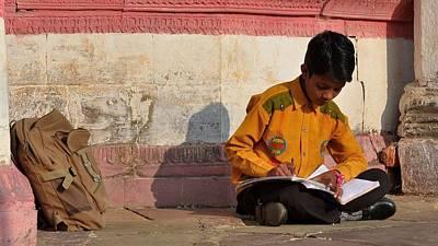 Photograph - Morning Studies - Jabalpur India by Kim Bemis
