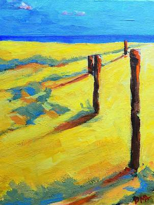Painting - Morning Sun At The Beach by Patricia Awapara