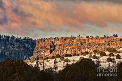 Photograph - Morning Sun On The Ridge by Donna Greene