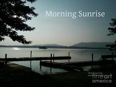Digital Art - Morning Sunrise by Angelia Hodges Clay