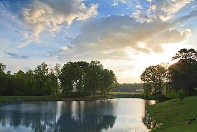 Photograph - Morning Sunrise by Melinda Fawver