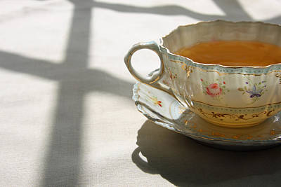 Art Print featuring the photograph Morning Tea by Brooke T Ryan